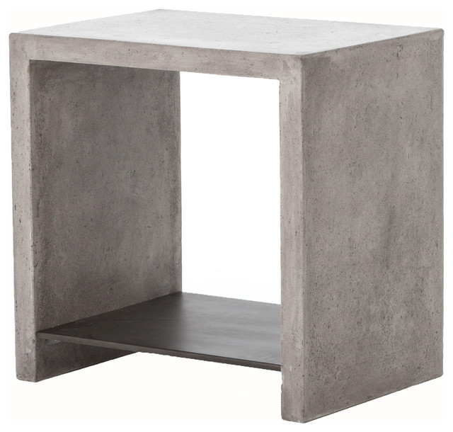 Everett Hugo End Table Industrial Side Tables And End Tables