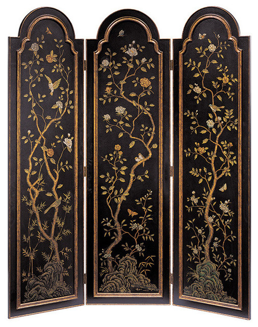 Arched Top Folding Screen