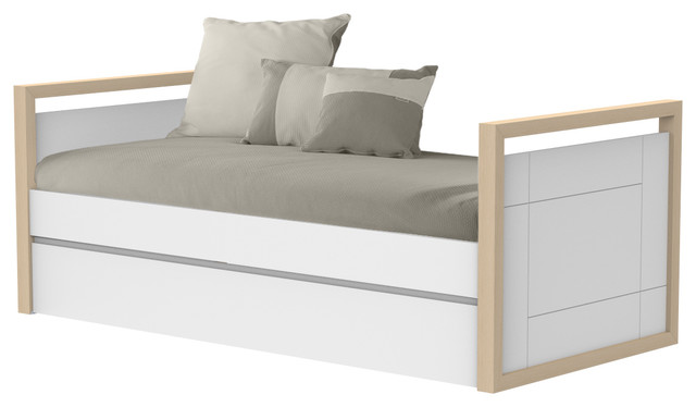 Artik H55 Single Trundle Bed, Without Drawers