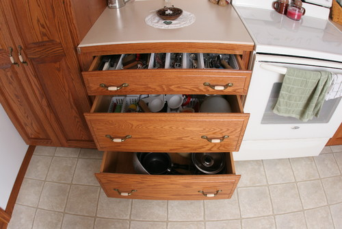 Kitchen Cabinet pull outs? your thoughts?