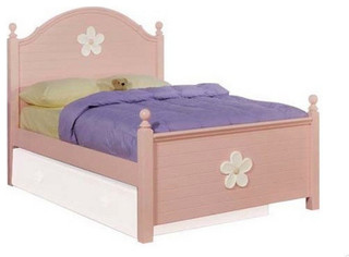 Floresville Twin Bed, Pink