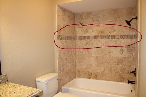 Hi There Just Wondered How High The Accent Strip Should Be Placed In A Shower And Wide Is Certain Calculation I Can Use