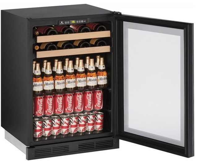 U-Line 24 1000 Series Built-In Beverage Center With 5.4 Cu. Ft. Capacity.