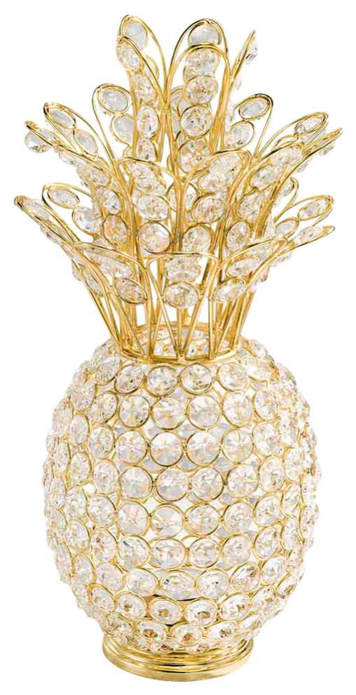 Classic Gold Medium Pineapple Candle