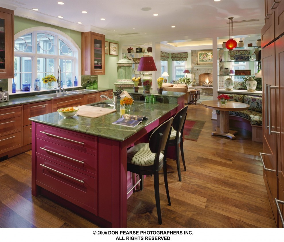 A Rare Pearwood Kitchen By Steepleview Cabinetry Boston By Custommade Com