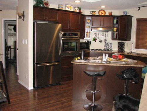 dark laminate flooring in kitchen can i white wash a laminate floor 8564