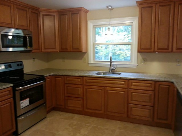 Madison Toffee Kitchen Cabinets Traditional Atlanta By Lily