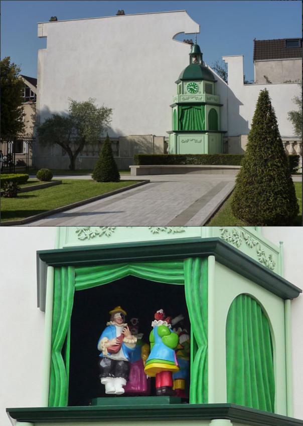 Création d'un carrillon automate (parc public)