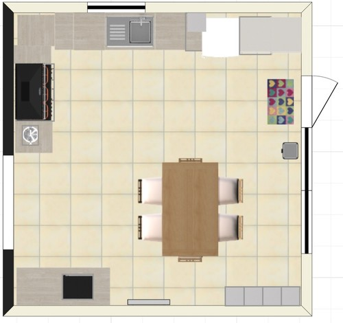 Help And Comments On Kitchen Layout Wanted