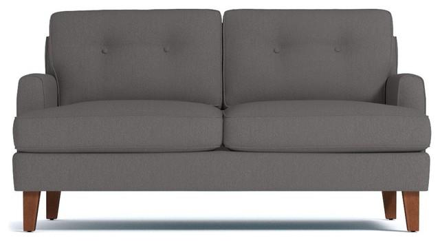 Brilliant Virgil Apartment Size Sofa Chromium 68X38X30 Short Links Chair Design For Home Short Linksinfo