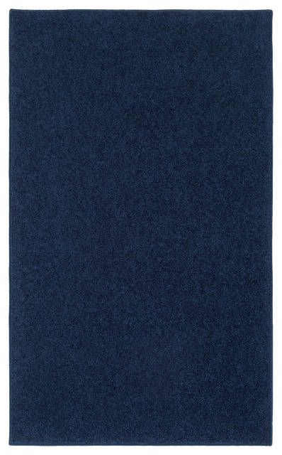 Ourspace bright area rug contemporary area rugs by for Bright blue area rug