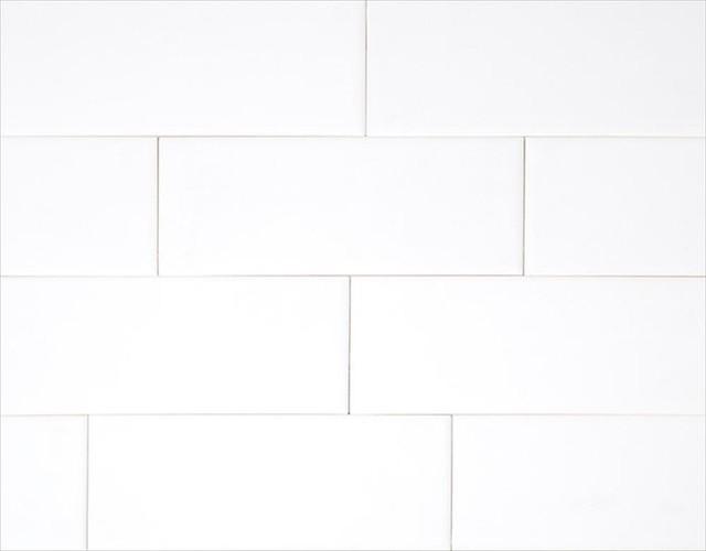 Porcelain and Ceramic Tiles, White