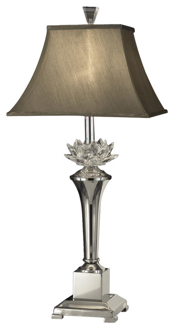 Dale Tiffany Gt11218 Paseo Crystal Table Lamp