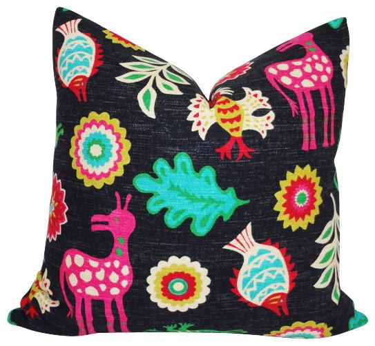 Waverly Mexicali Desert Flower Decorative Pillow.