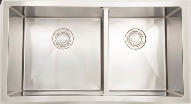 Double Bowl Kitchen Sink, Chrome
