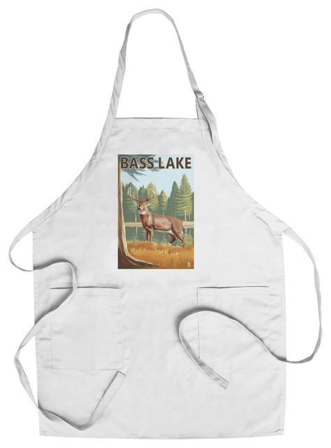 Chef's Apron, Bass Lake, California, Deer