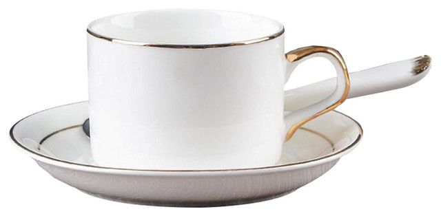 Elegant Tea Cup And Saucer Set Coffee