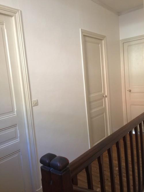 conseil pour couleur escalier et portes