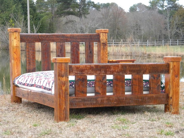 large posts full size bed frame bedroom products atlanta by the