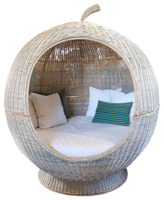 Rattan Apple Pod Bed.