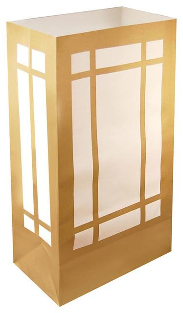 Lumabase Luminarias Luminaria Bags, Lantern, Set Of 24.