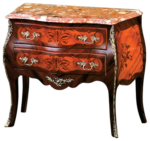 David Michael Inc. Bombay Chest, Marble Top