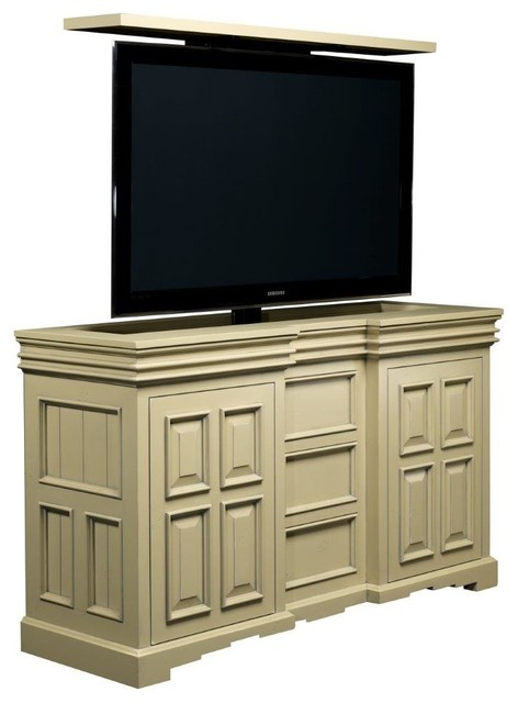 TV Lift Cabinet Transitional Designs by Cabinet Tronix - Transitional - Boston - by TV Lift ...