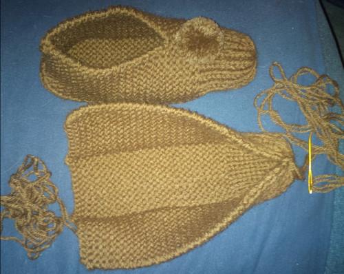 Knitting Grandma Slippers : Looking for knitted slipper pattern