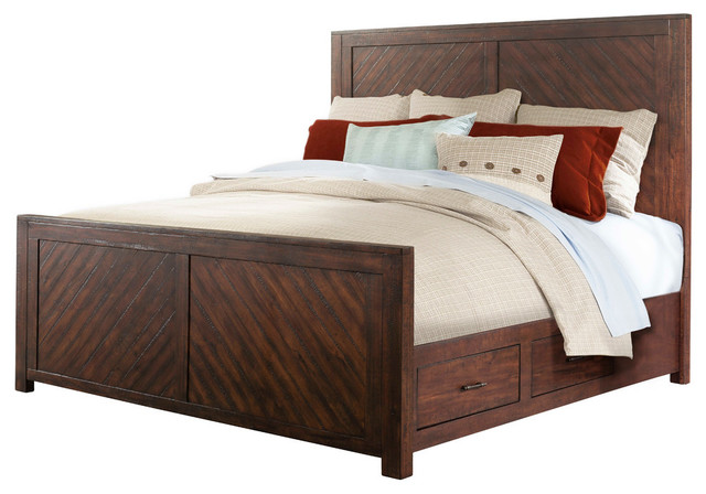 Dex King Platform Storage Bed.