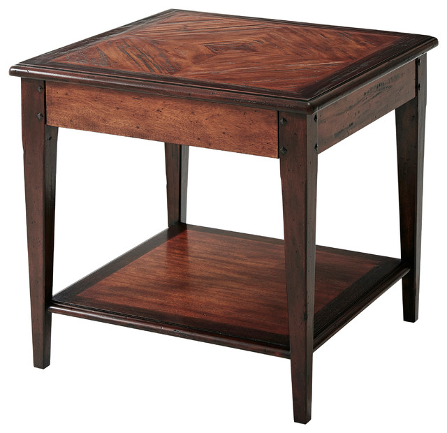 Wine country table traditional side tables and end tables by theodore alexander Traditional coffee tables and end tables