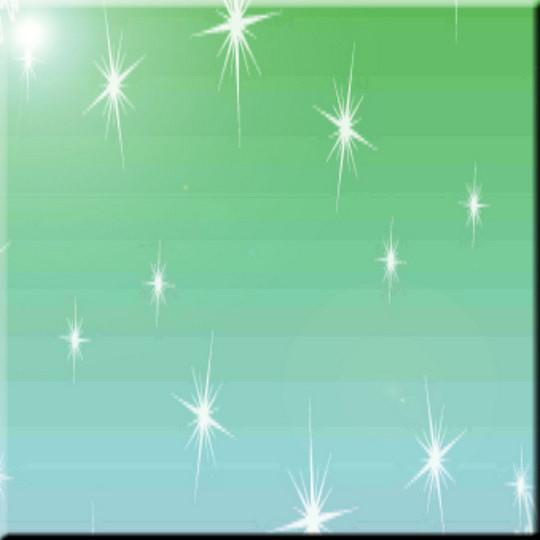 Aqua Twinkle Stars Design Ceramic Art Tile X - Ceramic tile star designs