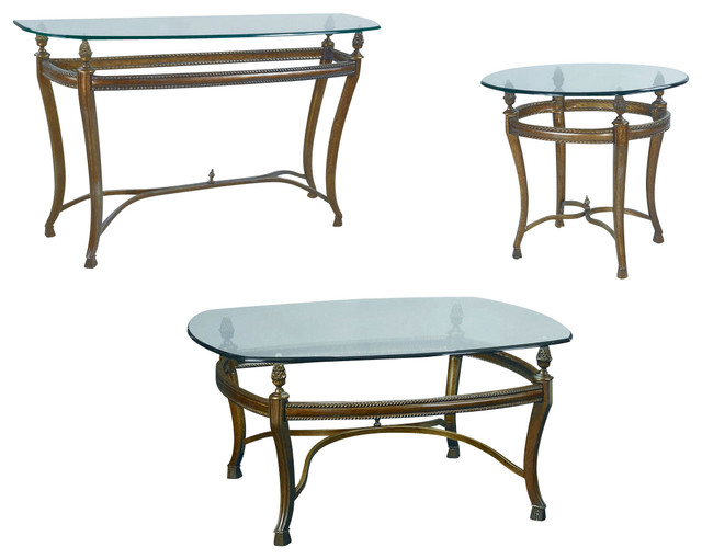 Hammary Suffolk Bay Square Cocktail Table Set Traditional Coffee Table Sets By Beyond Stores