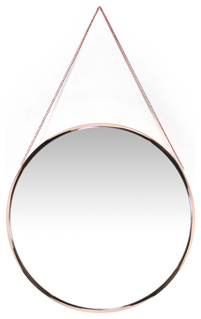 "Franc Decorative Wall Mirror, 17""."