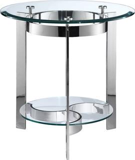 Mercury Round End Table, 410-023