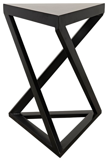 Triangle Side Table Modern Contemporary