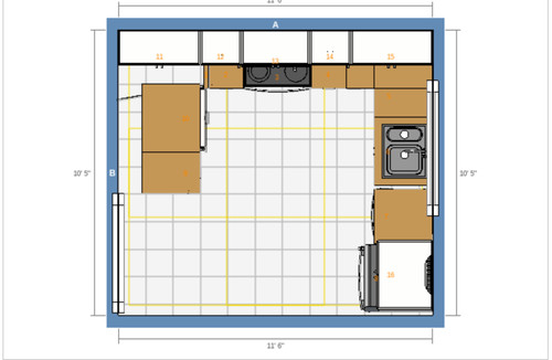 Need Help With Ikea Kitchen Layout