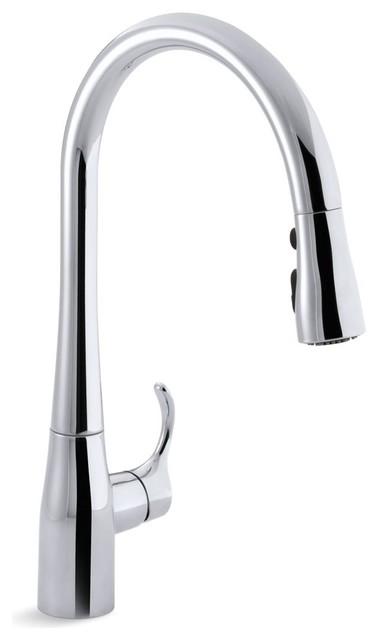 Kohler Simplice 1-Hole or 3-Hole Kitchen Sink Faucet