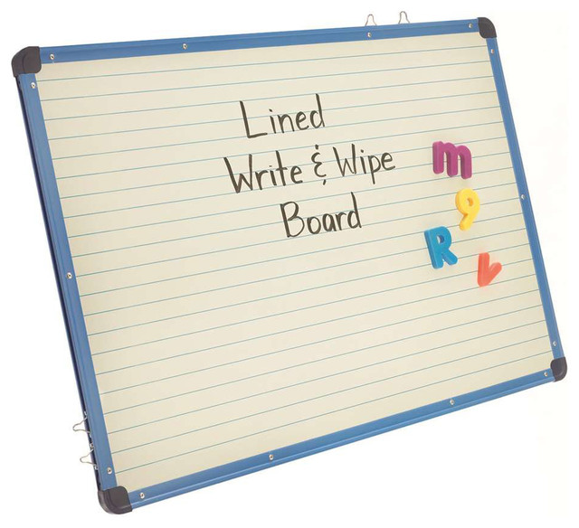 Copernicus Magnetic Lined Double-Sided Dry Erase White Board