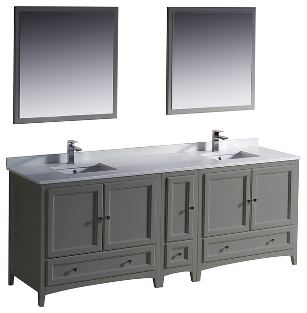 traditional double sink bathroom vanities wood oxford 84