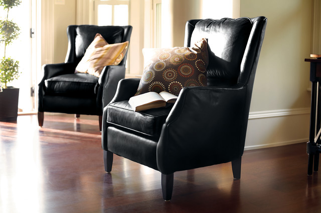 Superbe Alex Leather Chair Traditional