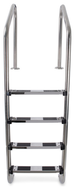 Stainless Steel 4 Step Swimming Pool Ladder.