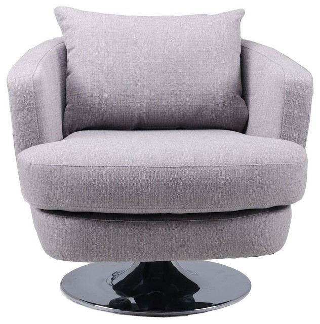 Penny Furniture: Penny Fabric Swivel Chair
