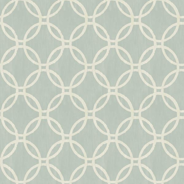Ecliptic Blue Geometric Wallpaper Contemporary