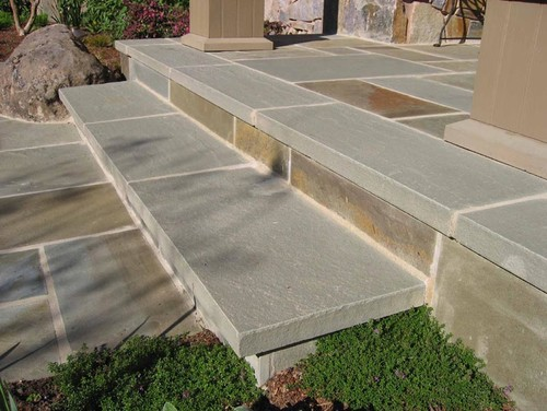 What Type Of Stone Stone Stair Treads Are These (whatu0027s The Finish)?