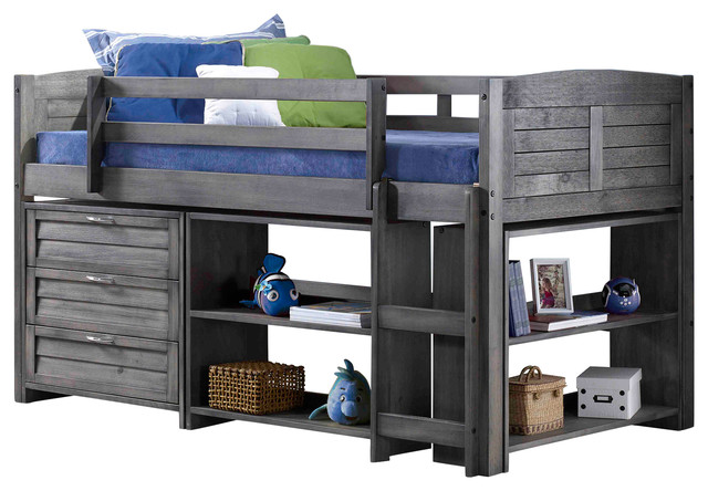Greta Low Loft Bed.