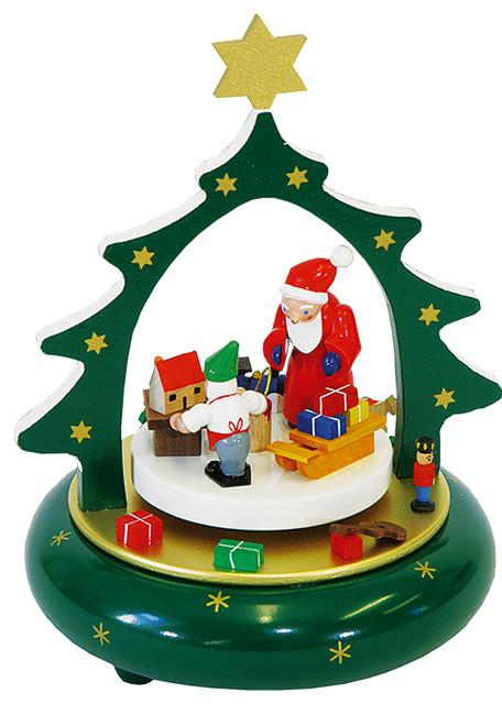 Richard Glaesser Music Box, Santa