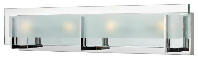 Hinkley Latitude Bath 4-Light Vanity, Chrome