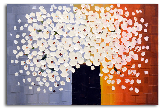 """""""bouquet Of Pure White"""" Original Oil Painting On Canvas."""