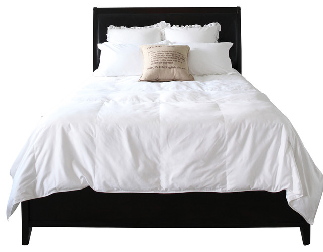 Easy Bed Making Natural Down Comforter, Full/Queen traditional-duvet-inserts