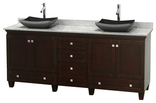 Shop Houzz Wyndham Collection Acclaim Espresso Double Vanity Bathroom Van